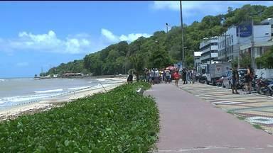 JPB2JP: Homem foi assassinado na Orla de João Pessoa - Crime no Cabo Branco.