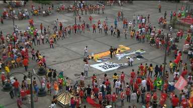 JPB2JP: CUT organiza manifestação no Centro de João Pessoa - Em defesa da Petrobras, da Democracia e da Reforma Política.