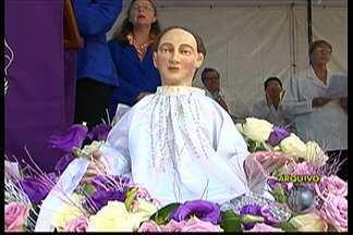Guararema comemora Dia de São Longuinho com festa neste domingo (15) - São esperados devotos de várias cidades e até de outros Estados.