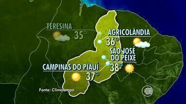Confira a previsão do tempo para este domingo (15) em todo o Piauí - Confira a previsão do tempo para este domingo (15) em todo o Piauí