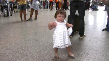 Bebê que precisou de doação para tratamento fora do país passa bem após cirurgia - Bebê que precisou de doação para tratamento fora do país passa bem após cirurgia.