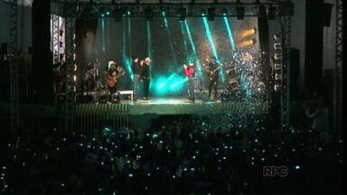 O cantor Milionário faz o primeiro show sem José Rico - A apresentação foi em Paranavaí