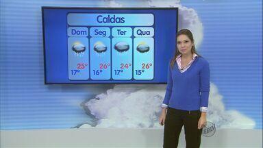 Confira a previsão do tempo no Sul de Minas para este domingo (15) - Confira a previsão do tempo no Sul de Minas para este domingo (15)