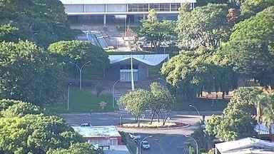 Globocop faz belas imagens da Igrejinha, em Brasília - No episódio da série Brasília do Céu deste sábado (14), você verá a Igreja Nossa Senhora de Fátima, a Igrejinha. O Globocop fez imagens do templo, que é uma pequena joia da arquitetura brasiliense.