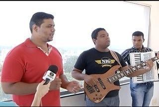 """Banda gospel """"Eternos Adoradores"""" grava CD e DVD neste domingo (15) em Montes Claros - Banda tem 10 meses de carreira."""