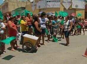 Houve protesto neste sábado (14) em Altinho, no Agreste de Pernambuco - Entre as reivindicações estava a melhoria no atendimento da Unidade Mista de Saúde do município.