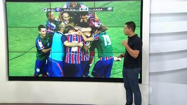 Darino Sena comenta o triunfo do Bahia sobre o Galícia - O tricolor ganhou com cinco gols. Veja como foi a partida.
