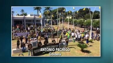 Telespectadores compartilham vídeos dos protestos do domingo - Nós recebemos vídeos de Goioerê, Cianorte, Umuarama e Paranavaí. Protestos reuniram milhares de pessoas.