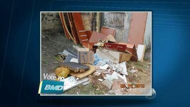 VC no BMD: Moradores de bairros de Salvador reclamam de lixo e entulho - Confira.