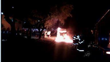 População se diz preocupada com ataques a ônibus na Grande Fortaleza - Sete veículos foram incendiados na região em 2015.