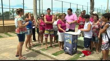 Moradores de bairro da Serra, no ES, pedem melhorias para o local - Urna do ESTV foi até o bairro Planície da Serra.