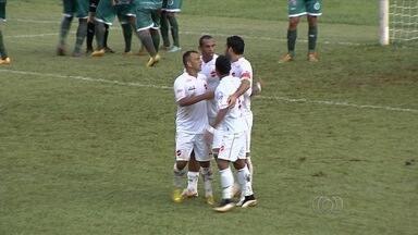 Com quatro gols de Frontini, Vila Nova goleia o Itaberaí - Atacante marca todos no primeiro tempo em vitória tranquila do Tigrão.