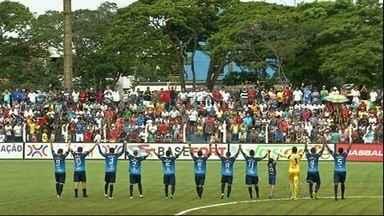 Veja os gols das equipes do interior no Campeonato Goiano - Nonato marca mais um em vitória do Goianésia. Aparecidense derrota o Trindade, e Anapolina empata com Grêmio Anápolis.