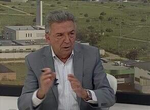 Prefeito de Caruaru fala sobre questões relacionadas à nova Feira da Sulanca - Para José Queiroz, 'o dono da feira é o feirante'.