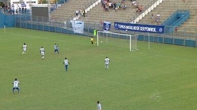 Em jogo morno, São Raimundo-AM e Penarol ficam no empate na Colina - São Raimundo sai na frente com mais um gol de pênalti, mas atacante Tety empata para a equipe de Itacoatiara que se isola na liderança da competição.