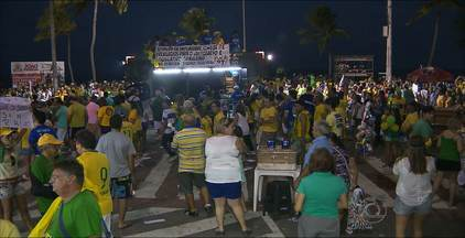 Manifestações deste domingo em João Pessoa - Laerte Cerqueira fala sobre as reivindicações dos manifestantes.