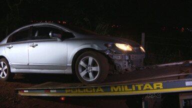 Polícia recupera carro roubado em Foz - Foi depois de uma perseguição pelo bairro Morumbi