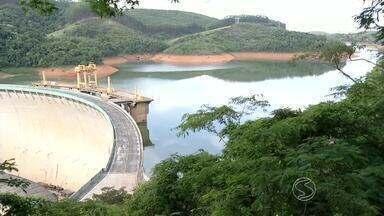 Nível da Represa do Funil em Itatiaia, RJ, passa de 40% do volume útil - Indice até parece bom, mas com a chegada do Outono, estação conhecida pela falta de chuva, ainda é preciso economizar água.