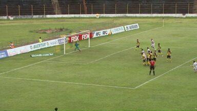Operário volta de Maringá com um ponto e terceira colocação - Fantasma agora encerra primeira fase com dois jogos em Ponta Grossa