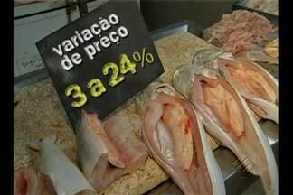 Entrou em vigor o decreto que proíbe a saída do pescado do Pará - Reunião promovida pela Secon definiu medidas de fiscalização no estado.