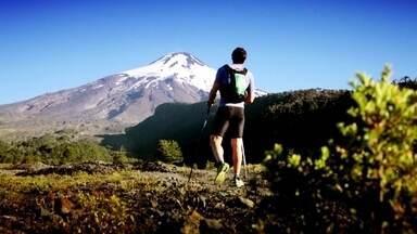Clayton Conservani acompanha Roman Romancini em uma prova de 100km pelos Andes - Repórter acompanhou a primeira prova de Roman antes do desafio de escalar o Everest.