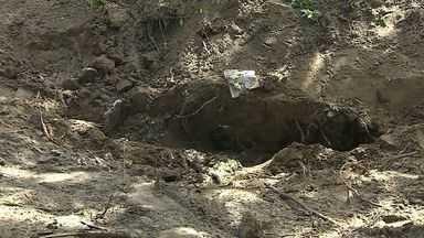 Corpo é encontrado em cova rasa na Grande Aracaju - Corpo é encontrado em cova rasa na Grande Aracaju.