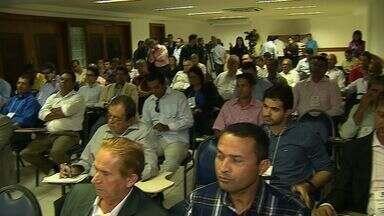 Presidente das Câmaras de Vereadores participam de encontro - Presidente das Câmaras de Vereadores participam de encontro.