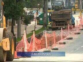 Obras do Sistema Integrado de Mobilidade chegam à rua Moreira César - Via é umas das principais ligações da zona norte com o centro da cidade