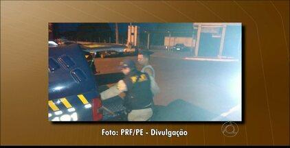 Paraibano procurado pela polícia é preso em Garanhus, em Pernambuco - O homem é acusado de tráfico de drogas.