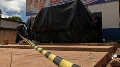 Moradores estão assustados com ataques a lojas de Jangada - Moradores estão assustados com ataques a lojas de Jangada.
