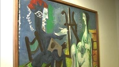 """CCBB de SP recebe exposição com obras de Picasso - """"Picasso e a modernidade espanhola"""" estão em SP. São quadros do artista, trazidos da Europa em aviões diferentes, que fazem desta uma das exposições mais esperadas do ano."""