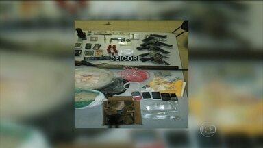 Sete homens são mortos em operação da polícia em Currais Novos, no RN - A suspeita é que eles faziam parte de uma quadrilha que explodia caixas eletrônicos. Um homem foi preso. O tiroteio assustou moradores.