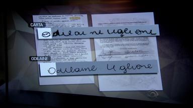 Perito afirma que carta de suicídio de mãe de Bernardo não teria sido escrita por ela - Após comparações, ele concluiu que os traços não são os mesmos.
