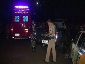 Mulher é atropelada por moto - O acidente foi no conjunto João Turquino, em Londrina. Maria da Silva, de 66 anos, morreu. O motociclista fugiu.