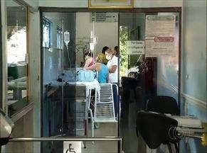 Pacientes reclamam da falta de atendimento em hospitais por causa de paralisação - Pacientes reclamam da falta de atendimento em hospitais por causa de paralisação