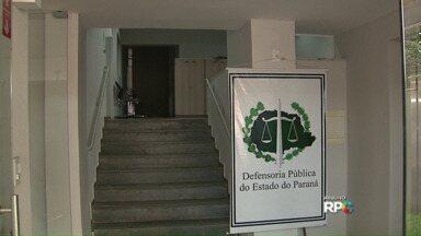 Defensoria Pública do Paraná está sem atendimento externo - Segundo a assessoria de imprensa da Defensoria, o Governo do Estado não pagou os serviços de segurança.
