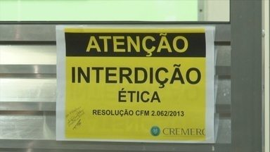 Hospital Municioal de Rolim de Moura tem centro cirúrgico interditado pelo Cremero - Cremero encontrou problemas em equipamentos e medicamentos vencidos. Centro cirúrgico deve voltar a funcionar dentro de 20 a 30 dias.