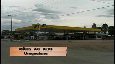 Assalto a posto de combustíveis assustam comunidade de Uruguaiana, RS - Dois homens rederam funcionários do posto.