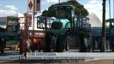 Feira agropecuária movimenta o Sul do país - Expolondrina, no PR, deve receber mais de 500 mil pessoas.