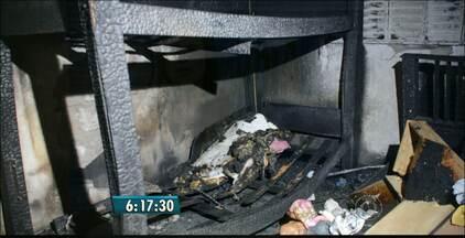 Duas crianças morrem em incêndio em João Pessoa - As vítimas eram irmãs e foram encontradas abraçadas.