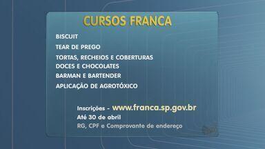 Franca, SP, tem 220 vagas gratuitas para cursos profissionalizantes - Interessados podem se inscrever no site da Prefeitura até o dia 30 de abril.