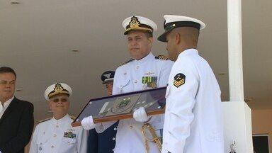 Capitania faz transmissão de cargo para o novo capitão de mar e guerra, no AM - Ação foi realizada nesta quarta-feira (8) pela Capitania Fluvial da Amazônia Ocidental.