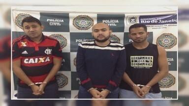 Suspeitos de tráfico no Amazonas são presos em apartamento de luxo no RJ - Trio teria vindo ao Rio negociar drogas com uma facção criminosa. Policias apreenderam 1kg de maconha, tipo skunk, com o grupo