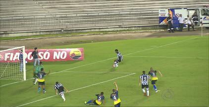 Botafogo-PB goleira o Lucena por 6 a 1 no Almeidão - Clube vira mais líder do que nunca. Já o Lucena segue ameaçado de rebaixamento.