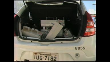 Reatores roubados de estádio Aldo Dapuzzo são encontrados - Polícia segue investigando o caso.