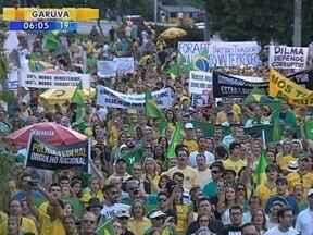 Santa Catarina registra protestos em 29 cidades - Santa Catarina registra protestos em 29 cidades