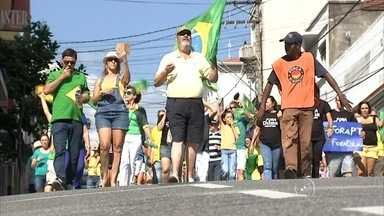 Veja como foram os protestos do domingo (12) em Salto, Itatiba e Itu - Em Salto, Itatiba e Itu (SP) também houve manifestações contra o governo federal. Veja como foram no vídeo do Bom Dia Cidade.