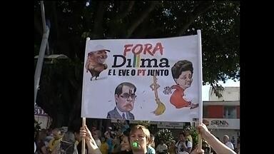 Manifestantes na região de Bauru vão às ruas para protestar - Após a mobilização no dia 15 de março em todo o país, os moradores de cidades da região de Bauru (SP) voltaram às ruas neste domingo (12) para protestar contra a corrupção. Foram registradas manifestações em Bauru, Marília, Jaú, Garça, Promissão, Assis, Lençóis Paulista, Tupã, Ourinhos, Santa Cruz do Rio Pardo, Lins e Pompeia.