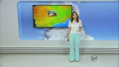 Confira a previsão do tempo para a região de São Carlos nesta segunda-feira (13) - Confira a previsão do tempo para a região de São Carlos nesta segunda-feira (13)