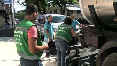 Fiscalização de carros-pipa terá mais rigor em Maceió - Prefeitura espera aumento na procura por serviço durante rodízio da Casal.Objetivo é garantir a qualidade do produto consumido pela população.